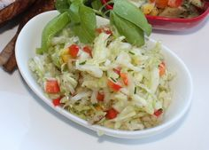 Krautsalat (German Style Cole Slaw)been looking for this!