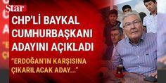 CHP'li Baykal Cumhurbaşkanı adayını açıkladı: Erdoğan'ın karşısına çıkarılacak aday...: Deniz Baykal, memleketi Antalya'da Kumluca ve Finike ilçelerinde ziyaretlerde bulundu. Kumluca'da CHP'nin ilçe başkanlığı önünde açıklamalarda bulunan Baykal referanduma ilişkin açıklamalarda bulundu.    BAYKAL'IN CUMHURBAŞKANI ADAYI    Başkanlık seçimi konusunda da görüşlerini dile getiren Deniz Baykal, ABD'deki seçimleri örnek vererek iki kişinin yarıştığını söyledi. İlk adayın Cumhurbaşkanı Recep…