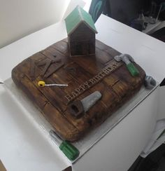 Tool Shed Cake
