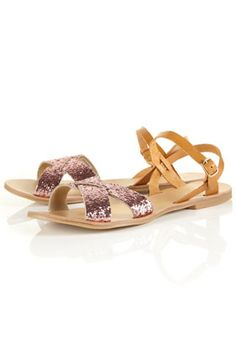 Miu-Miu style sandals (but from Topshop!)