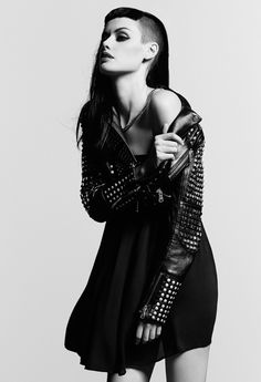 black-white-madness:  Madness:  Alice K for The Kooples new Women's Look Book Spring-Summer 2014 Photography - Raphaël Elicha