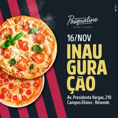 Food Design, Food Graphic Design, Food Poster Design, Flyer Design, Logo Pizza, Pizza Branding, Social Media Template, Social Media Content, Delivery Pizzaria
