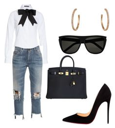 featuring Christian Louboutin, Dolce&Gabbana, Cartier, Yves Saint Laurent and Hermès Fresh Outfits, Chic Outfits, Fashion Outfits, Spring Outfits, Love Fashion, Winter Fashion, Fashion Looks, Womens Fashion, Looks Style