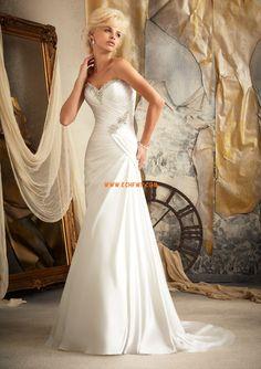 Übergrößen 3/4 Arm Schnürung Brautkleider 2013