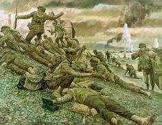 Desenhado Soldados Exército