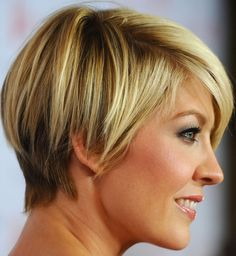 short hair cut