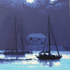 "Saatchi Art Artist Gordon Hunt; Painting, ""Cool summer shadows"" #art"