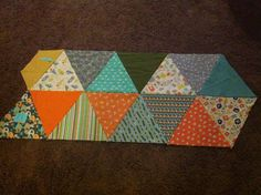DIY-Triangle Quilt | Project: Leasa