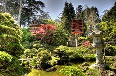 #HeyLets - Japanese Tea Garden. San Francisco, California.
