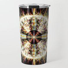 Fractal Jewel Travel Mug by beebeedeigner Best Water Bottle, Stay Hydrated, Drinking Water, Fractals, Travel Mug, Vase, Jewels, Mugs, Inspiration