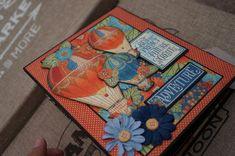 6 1/2 x 8 Feria Mundial gráfico 45 Mini Album por Nostalgiquescrap