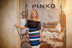 Arzu Sabanci at PINKO by Arzu Sabanci event in Rome for the launch of Spring Summer 2016 collection