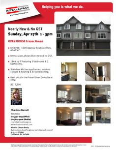 Open House Apr 27th!