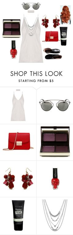 """""""Kendall Jenner"""" by rabiaheart-13 ❤ liked on Polyvore featuring Christian Dior, Kevyn Aucoin, Erica Lyons, Maybelline, Lucky Brand and Maison Margiela"""