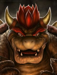 """Bowser The Koopa King"" by Cyruscloud.deviantart.com on @deviantART"