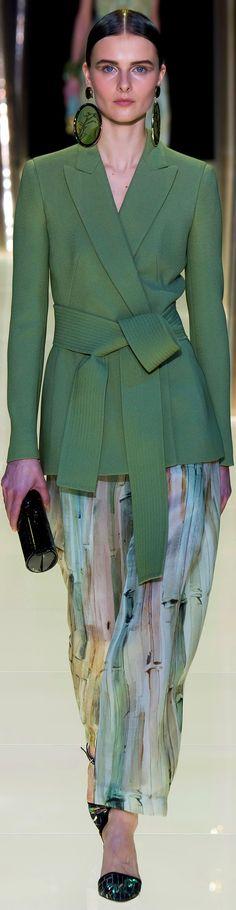 -Giorgio Armani Privé Haute Couture Spring Summer 2015.<3