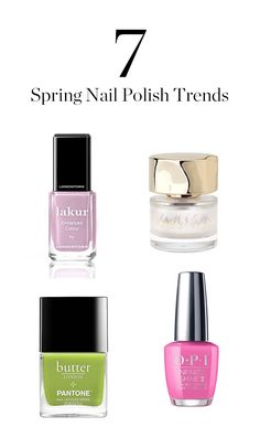 Meet the 7 spring nail polish shades you'll be most excited to wear.