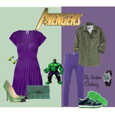 """The Avengers- Hulk"" by nardeenelsokkary on Polyvore"