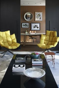 mandarin oriental Barcelona yellow side chairs from Patricia Urquiola (spanish designer) Decoration Inspiration, Interior Design Inspiration, Home Interior Design, Interior Architecture, Furniture Inspiration, Luxury Interior, Decor Ideas, Room Ideas, Cafe Interior