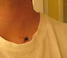 Tear Tattoo | LOOK OUT! There's a black widow on you! You can be crawling with these ...