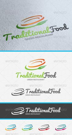 Traditional Food Logo - EPS Logo Template • Only available here ➝ http://graphicriver.net/item/traditional-food-logo-template/4021850?ref=pxcr