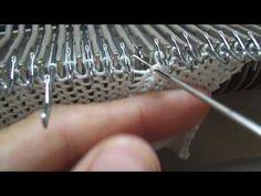 Como usar el inverson de agujas knittax - YouTube