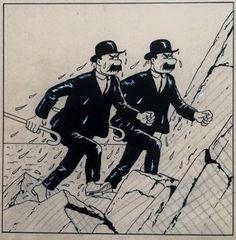Dupond et Dupont tombent à l'eau...