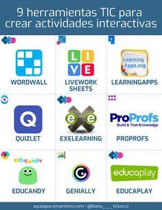 Teacher Tools, Teacher Resources, Apps For Teaching, Professor, Virtual Class, Art Therapy Activities, Flipped Classroom, Instructional Design, Nerd