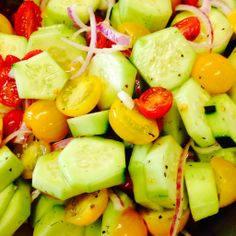 Cool Cucumber Salad.
