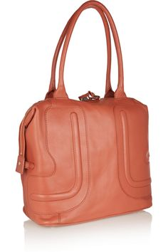 See by Chloé Textured-leather shoulder bag