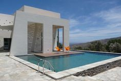Andros Vacation House 'triple-hybrid' by Klab Architecture | Delood