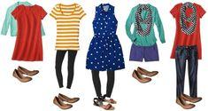 Capsule Wardrobe - Target Women's Fashion 6-10