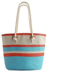 shopstyle.com: Kelly & Katie Rope Handle Striped Tote