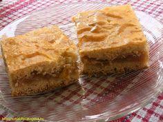 Almás omlós süti