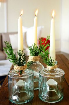 Tips for Decorating a Small Space for the Holidays #theeverygirl
