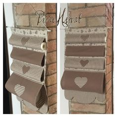 To make this and hang on the kirchen door, Pure HeART di Francesca Pugliese: Cucito creativo per la tua casa Fabric Crafts, Sewing Crafts, Sewing Projects, Hanging Storage Pockets, Home Crafts, Diy Home Decor, Linen Storage, Home Hacks, Interior Design Living Room