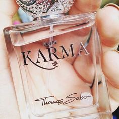 Spread good Karma with our new fragrance Eau de Karma! Link in bio #eaudekarma #suchagoodkarma #beauty #fragrance #parfüm #karma - Shop now for thomassabo > http://ift.tt/1Ja6lvu