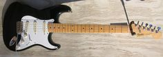 1988 Fender Stratocaster MIJ Black with Maple fingerboard
