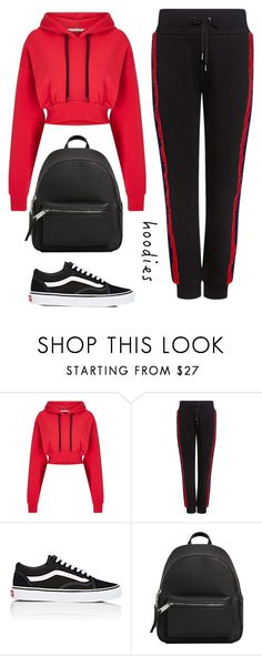 """get comfy #hoodie"" by dias123 ❤ liked on Polyvore featuring Miss Selfridge, Public School, Vans, MANGO and Hoodies"