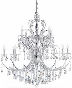 need this chandelier, then i will warp clear spoons and put them in the mix with the crystal, saw it in anthropology once. too cool