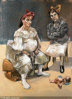 paula rego paintings | RÊGO Paula,THE PORTUGESE DUCK,Sotheby's,London