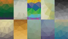 Free download: Awesome low poly PSD backgrounds photo