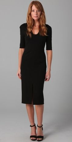 In the realm of fashion, the office is the last place you'll expect to strut your stuff. This deceptively simple dress however is an exception to the rule. Dazzling like a dream, this unpretentious little black dress means business.