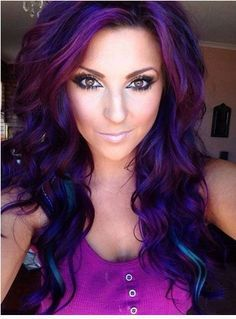 Think I'm wanting this. It's time to darken n make fun again. This is amazing color. PERFECT!!