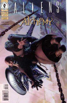 Aliens Alchemy #3 Cover by artist Richard Corben