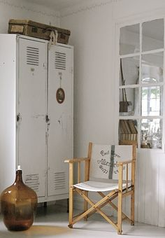 Add a mirrored back to an old window and it really adds light, depth and character to your room....
