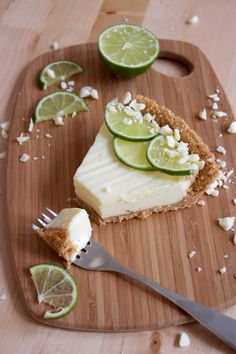 "white chocolate key lime pie - Others have described this as the ""best"" key lime pie."