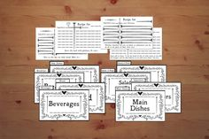Printable DIY Recipe Cards Bible Verses Christian Instant