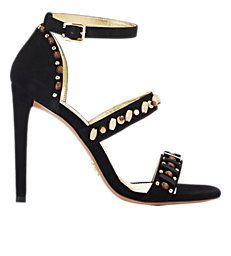 Prada Embellished Ankle-Strap Sandals