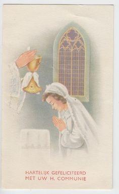 OLD VINTAGE HOLY CARD (Lot 4220)
